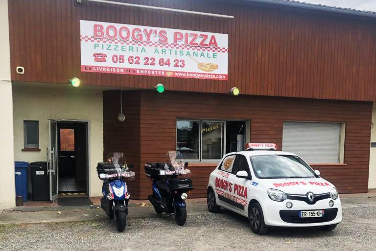 Boogy's Pizza, pizzeria artisanale à saintjory