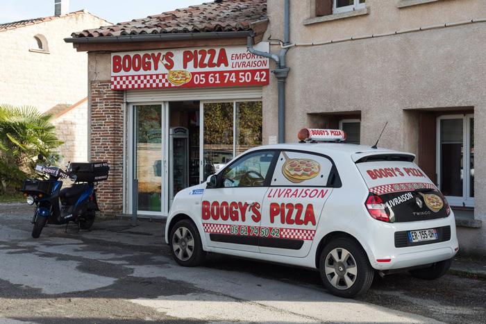 Boogy's Pizza, pizzeria artisanale à pechbonnieu